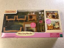 CALICO CRITTERS #CC2263 Deluxe Living Room Set - New Factory Sealed