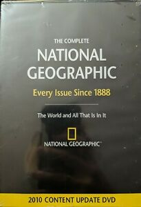 The Complete National Geographic: Every Issue Since 1888 (DVD, 2010)