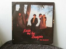 """ECHO AND THE BUNNYMEN - THE PUPPET/ DO IT CLEAN  ORIGINAL UK 7"""" VINYL SINGLE"""
