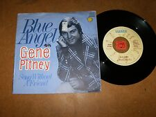 GENE PITNEY - BLUE ANGEL - SONG WITHOUT A   - 45 PS  / LISTEN - TEEN POP ROCK