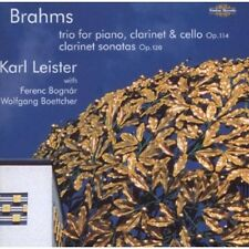 Karl Leister, J. Bra - Clarinet Sonatas in F minor & E-Flat [New CD]