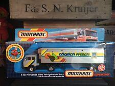 "Matchbox Super Kings K-124A2.Rares ""Edeka"" Promoversion OVP Mint from 1986"