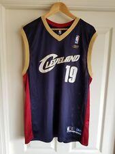 REEBOK CLEVELAND CAVALIERS DAMON JONES #19 NBA BASKETBALL JERSEY ADULT Large