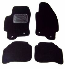 Jaguar X-Type 4pc Custom Replacement Black Floor Mats Pad-Premium Edge 2002-2004