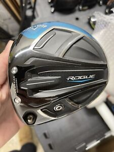 callaway rogue driver 9.0 Draw head only Left Handed 40