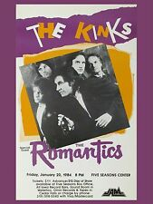 "The Kinks Five Seasons 16"" x 12"" Photo Repro Concert Poster"