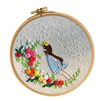 """Suitable for complete beginners! /""""Floral Elegance/"""" BEAD EMBROIDERY KIT"""