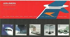 GB Presentation Pack 334 Airliners Jet Travel 2002 10% OFF FOR ANY 5+