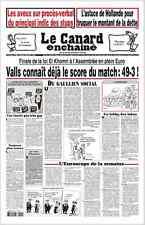 LE CANARD ENCHAÎNÉ n° 4990 Mercredi 15/06/2016 * Les indics des stups*Hollande*