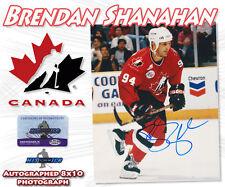 "BRENDAN SHANAHAN Signed TEAM CANADA 8x10 PHOTO w/COA - ""NEW"""
