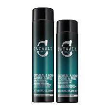 TIGI Catwalk OATMEAL & HONEY Nourishing Hair Shampoo 300ml + Conditioner 250ml