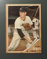1962 Topps #48 Ralph Terry New York Yankees EXMT-NM