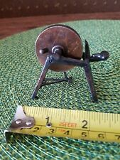 VINTAGE DURHAM DOLL HOUSE TOY FURNITURE ACCESSORIES GRINDING WHEEL FROM 1970S