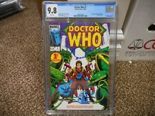 Doctor Who 1 cgc 9.8 DC 1984 1st series for the Dr WHITE pgs MINT TV show movie