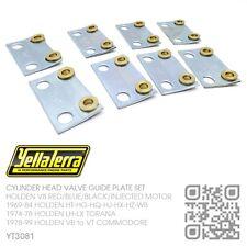 "YELLA TERRA 5/16"" GUIDE PLATES 253-308 V8 MOTOR [HOLDEN HQ-HJ-HX-HZ-WB]"