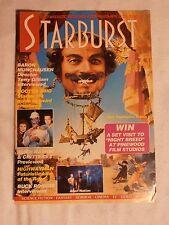 STARBURST MAGAZINE #128 BARON MUNCHAUSEN  DR WHO BUCK ROGERS April 1989