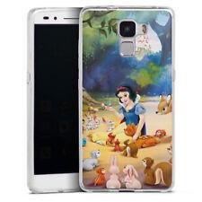 Huawei Honor 7 Silikon Hülle Case Handyhüle - Schneewittchen