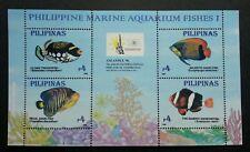 Philippines Aquarium Fish 1996 Children's Pets Underwater Life (ms B) MNH
