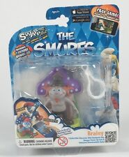 Smurf Brainy Backpack Clip