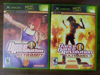 USED - Dance Dance Revolution Ultramix 1 + 3 (Microsoft Xbox) - Free Shipping