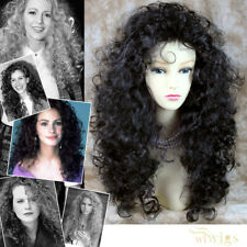 Wiwigs Untamed Long Black Brown Curly Wild Ladies Wig