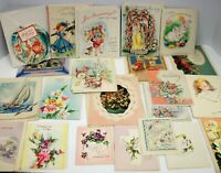 Estate Lot of 22 Unused Assorted Greeting Cards with Envelopes