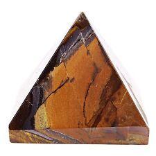 Pierre oeil de tigre pyramide spirituelle guérison sous tension générateur