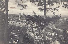 Vue sur FRIBOURG Suisse Switzerland 1907 Carte Postale W. Stucke