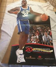Magic Johnson Los Angeles Lakers Budweiser Lize Size Cardboard Display 71in