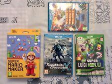 Lote Wii U. Como Nuevos. Pal España