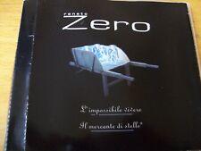 ZERO RENATO L'IMPOSSIBILE VIVERE CD SINGOLO
