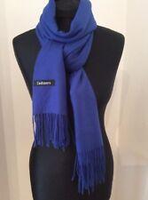 Cobalt Blue Super Soft Cashmere Scarf