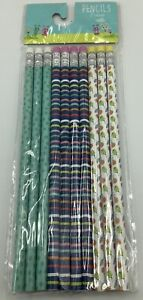 2 Packs Of New Wood Pencils with Erasers 10CT