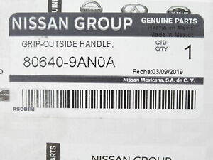 Genuine OEM Nissan 80640-9AN0A LH RH Front Outside Handle 2016-2019 Sentra