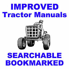 Allis Chalmers AC 180, 185 Tractors SERVICE SHOP REPAIR MANUAL - SEARCHABLE CD