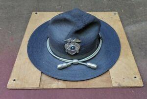 Vintage Washington State Police Badge Hat Trooper Stratton Cap