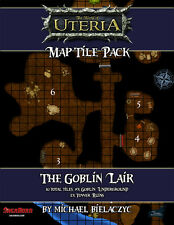 "Goblin Map Tiles - Pathfinder, D&D, Rpg Compatible - 10 - 8.5x11"" tiles"