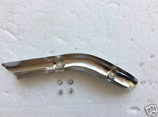 HONDA C70 PASSPORT 1983  new chrome EXHAUST HEAT SHIELD with bolts