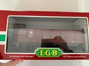 LGB G Scale Freight Car DR High Side Gondola, No. 99-03-41