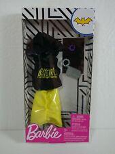 Barbie Doll Clothes Accessories Lot Batgirl Set Outfit Bracelet Bag Hoodie New