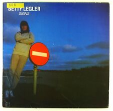 """12"""" LP - Betty Legler - Signs - A4584 - washed & cleaned"""
