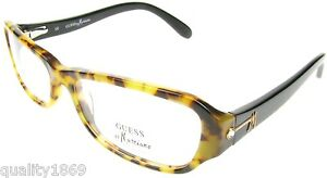 AUTHENTIC GUESS BY MARCIANO TORTOISE EYE READING GLASSES SPECTACLES FRAMES NEW
