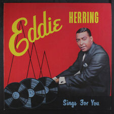 Eddie Herring: Sings For You Lp (Mono, autograph on back cover) Jazz