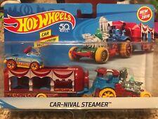 2018 Hot Wheels CAR-NIVAL STEAMER  **Steamer/Trailer/Car** Carnival