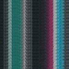 NORO ::Kureopatora #1032:: 100% wool yarn Black-Grey-Teal-Sky-Wine