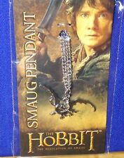 "Hobbit Smaug The Dragon Pendant (Zinc 18"" chain Desolation of Smaug by Noble New"