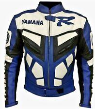 YAMAHA MOTORBIKE LEATHER JACKET / MOTORCYCLE LEATHER JACKET NEW