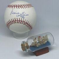 Bernie Williams signed Rawlings OML Baseball JSA COA Yankees HOF All Star A2126