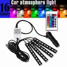 Striscia LED Auto Luci LED Interne per Auto con 36 LED DC 12V Multi Color RGB