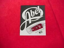 Abel Fly Reel Super Nipper Clipper Cutter RED GREAT NEW